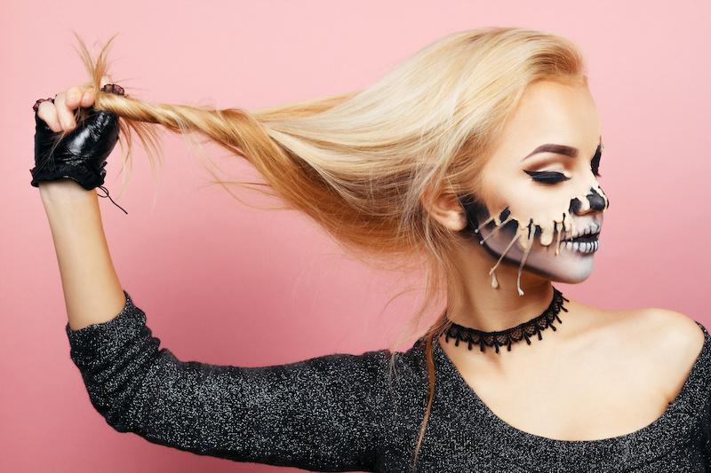 Ale straszna fryzura! Czyli halloweenowe inspiracje z marką HASK
