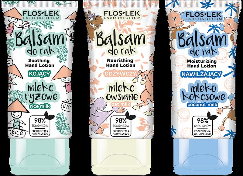 Nowe balsamy do rąk z mlekami roślinnymi – zbilansowana porcja zdrowia dla Twoich dłoni