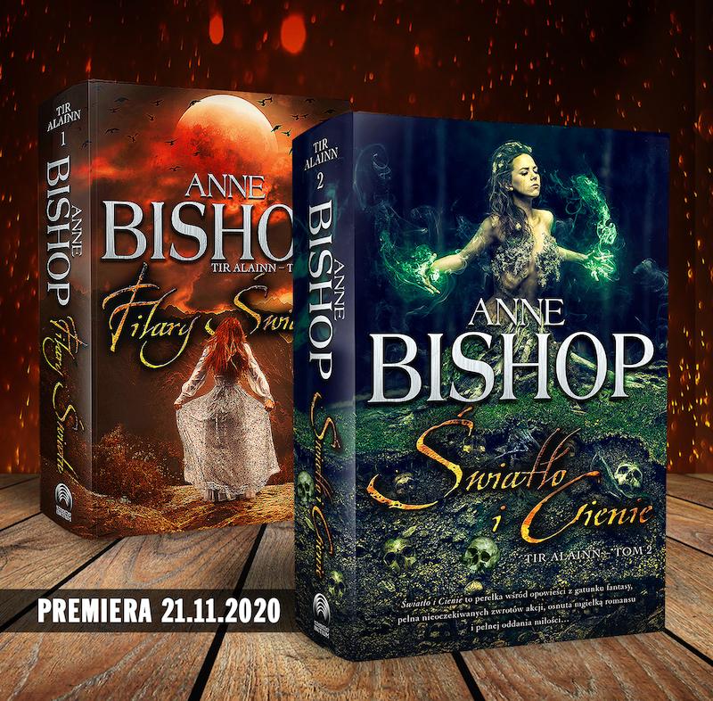 """Anne Bishop powraca w drugiej części fenomenalnej trylogii """"Tir Alainn"""