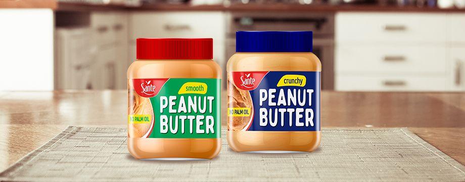 Masło orzechowe Sante – bez oleju palmowego