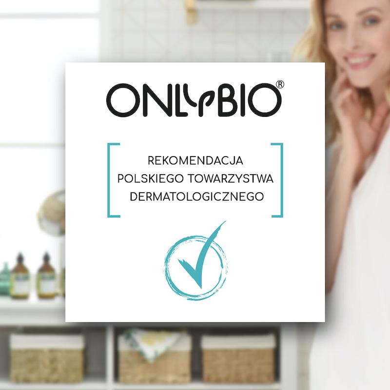 OnlyBio.life z rekomendacją Polskiego Towarzystwa Dermatologicznego