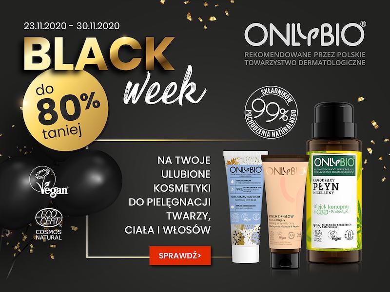 Black Week w OnlyBio- sprawdź mega rabaty!