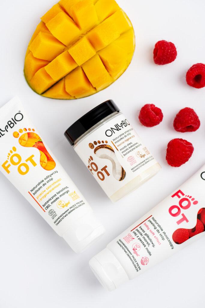 3 kroki w kierunku pięknych stóp z nowościami marki OnlyBio