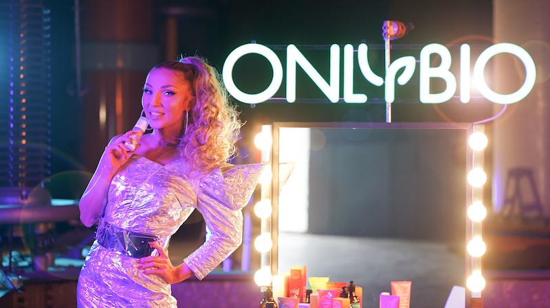 Cleo w nowej kampanii OnlyBio