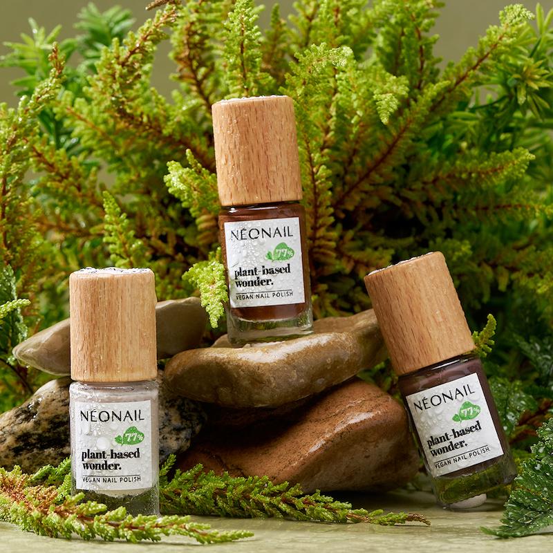 Naturalnie wegańskie lakiery klasyczne plant based-wonder od NEONAIL